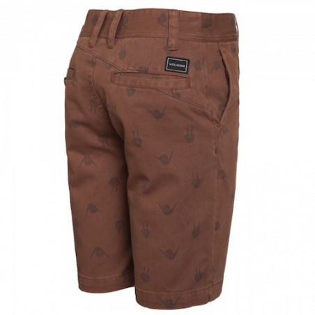 Short Kid VOLCOM Frickin Art Mocha