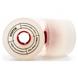 Roues BUSTIN Sniper White 66MM