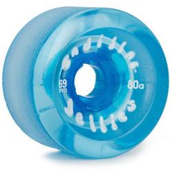 Roues Longboard CADILLAC Jellies Blue 69MM