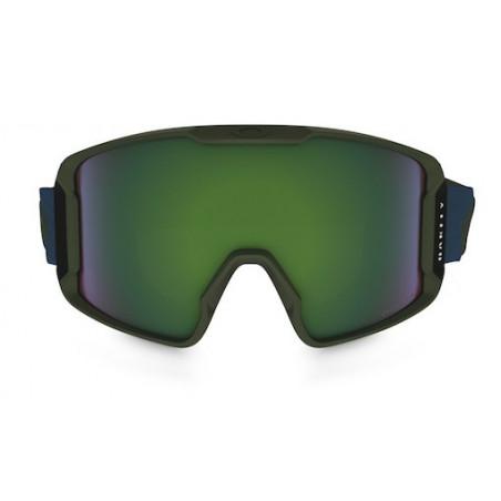 Masque OAKLEY Line Miner Army Green Blueshade Prizm Jade Iridium