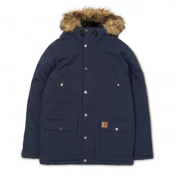 Veste CARHARTT Trapper Dark Navy Black