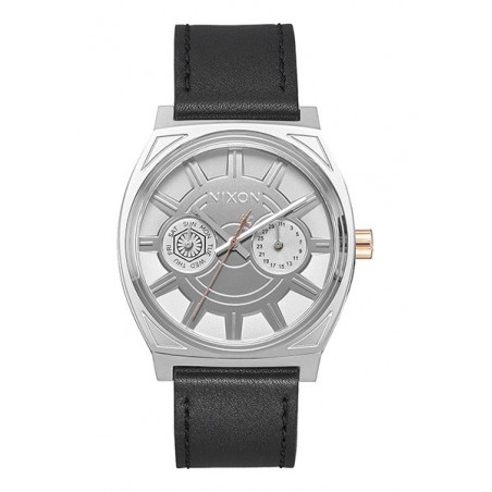 Montre NIXON Time Teller Deluxe Leather Star Wars Phasma Black