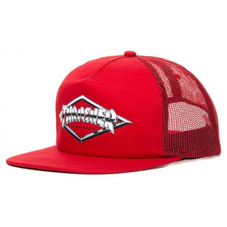 Casquette THRASHER Diamond Emblem Red