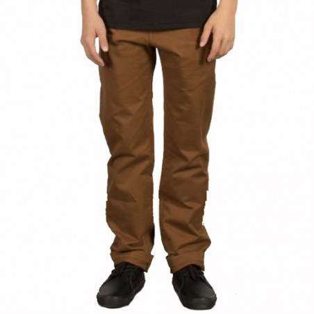 Pantalon Kid VOLCOM Frickin Slim Chino Mud