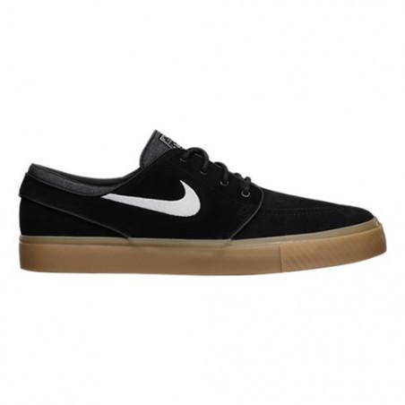 Chaussure Nike SB Janoski Black White Gum