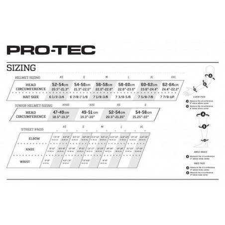 Protection PRO-TECH Pads Street