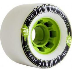 Roues Longboard HAWGS Mini Zombie White 70mm