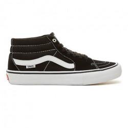 Chaussure VANS Sk8 Mid Pro Black White