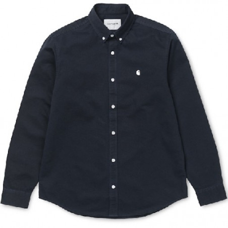 Chemise CARHARTT WIP Madison Dark Navy Wax