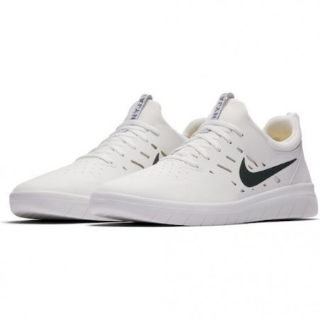 Chaussure NIKE SB Nyjah Free Summit White Lemon