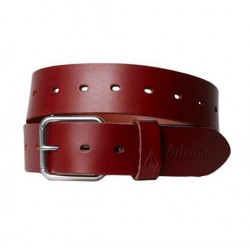 Ceinture VOLCOM Strangler Leather Brown